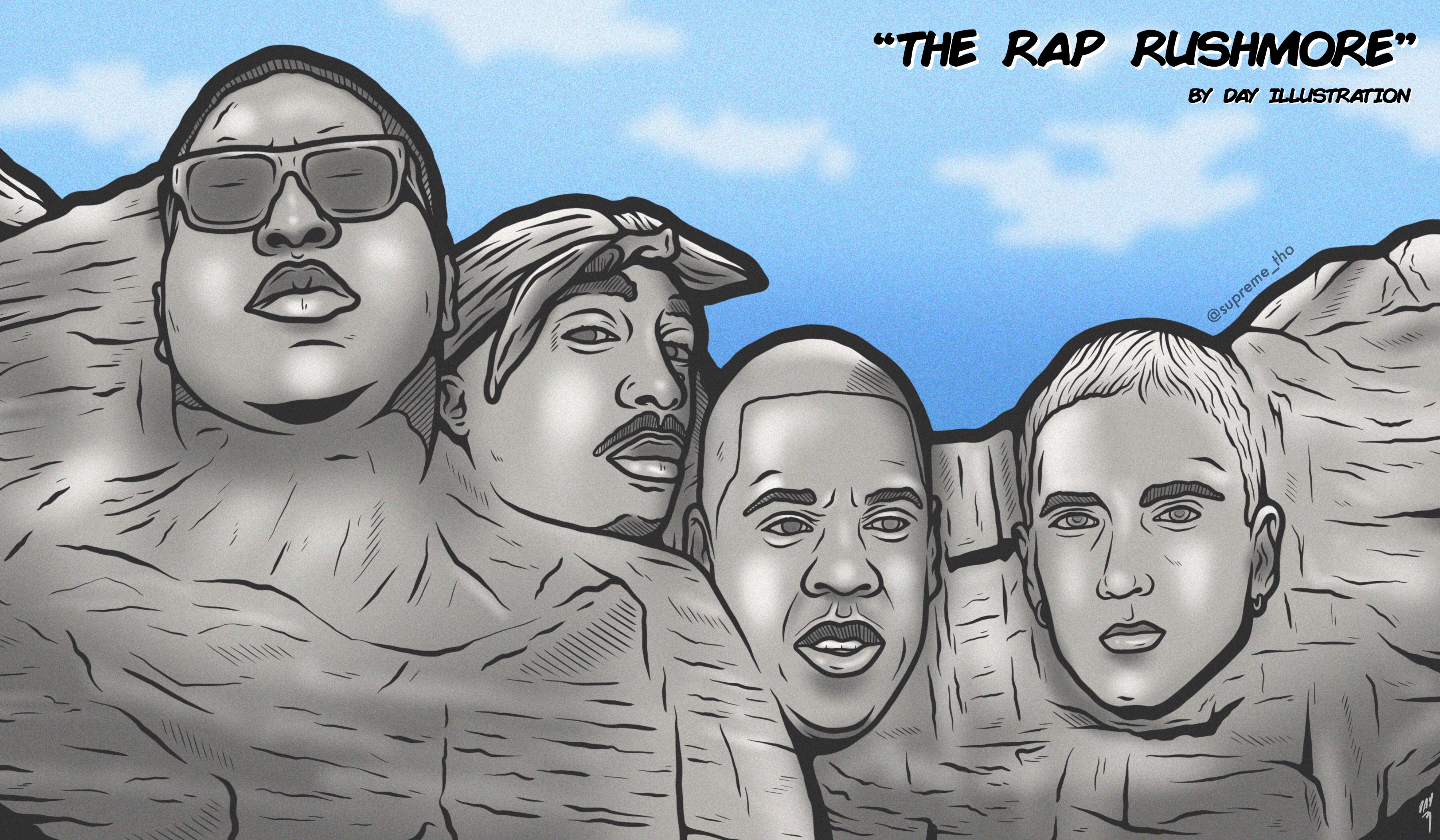 THE RAP RUSHMORE