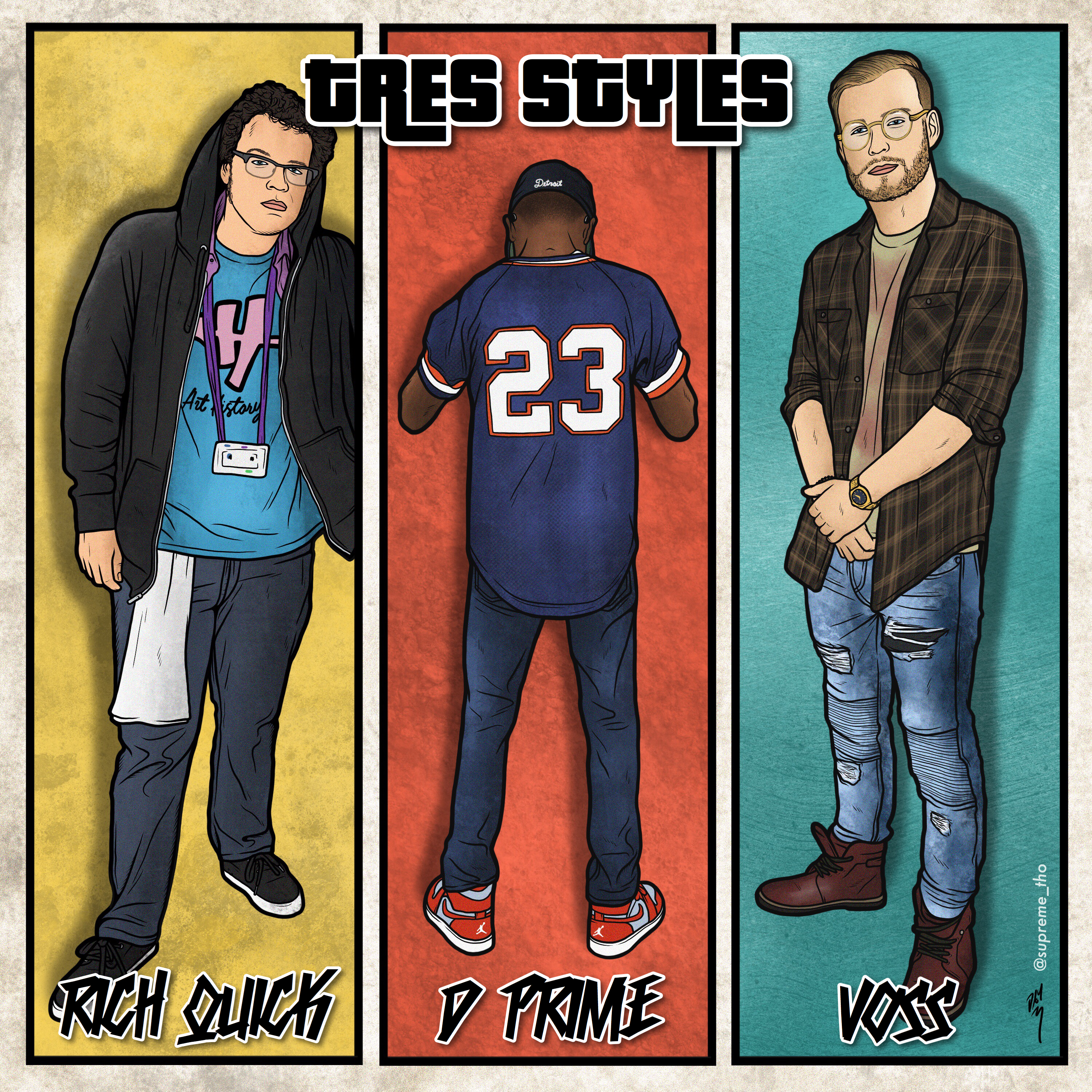 TRES STYLES COVER