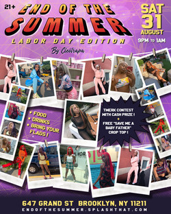 END OF THE SUMMER FLYER