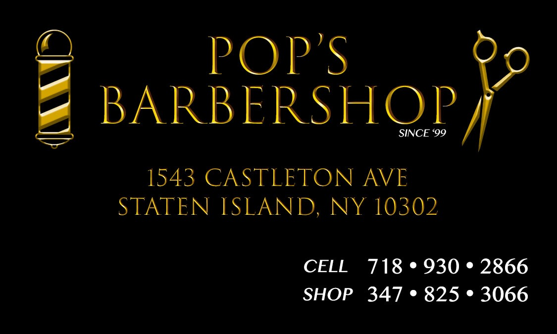 POP'S BARBERSHOP (FRONT)
