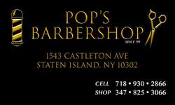 POP'S BARBERSHOP (FRONT)