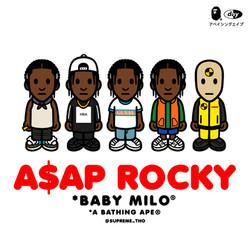 BAPE x A$AP ROCKY