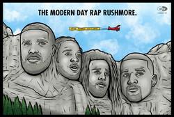 MODERN DAY RAP RUSHMORE