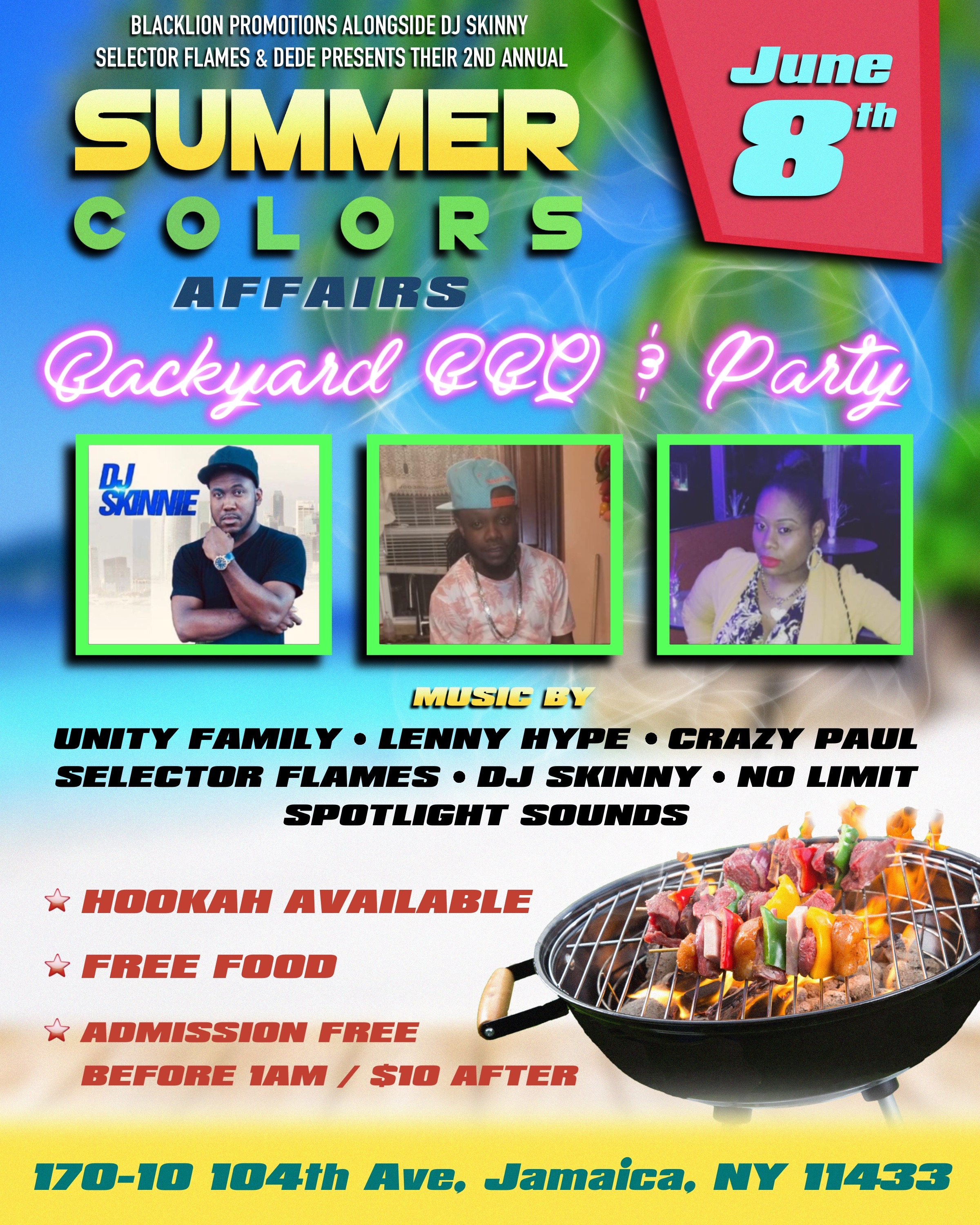 SUMMER COLORS FLYER
