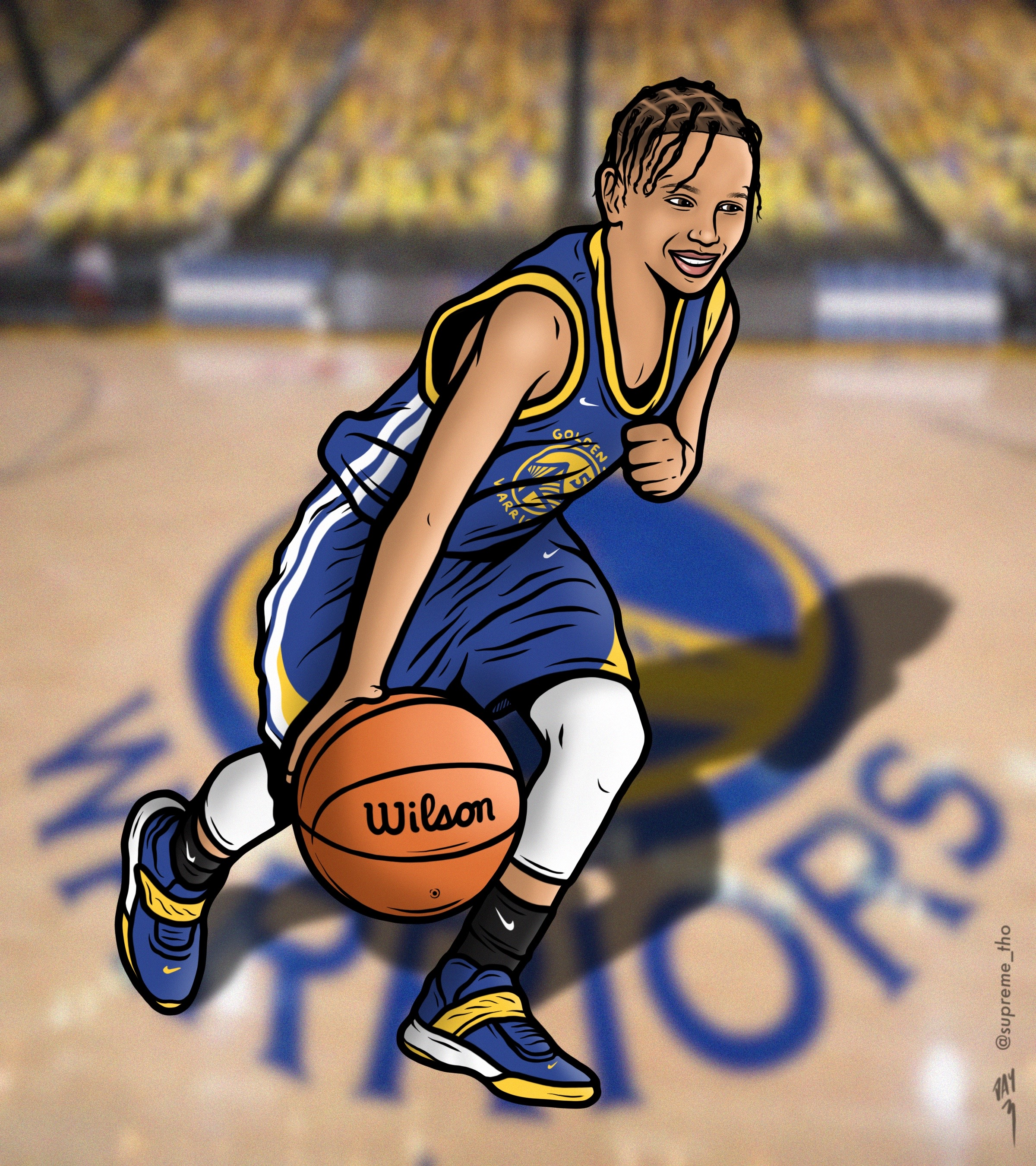 YOUNG CURRY PORTRAIT