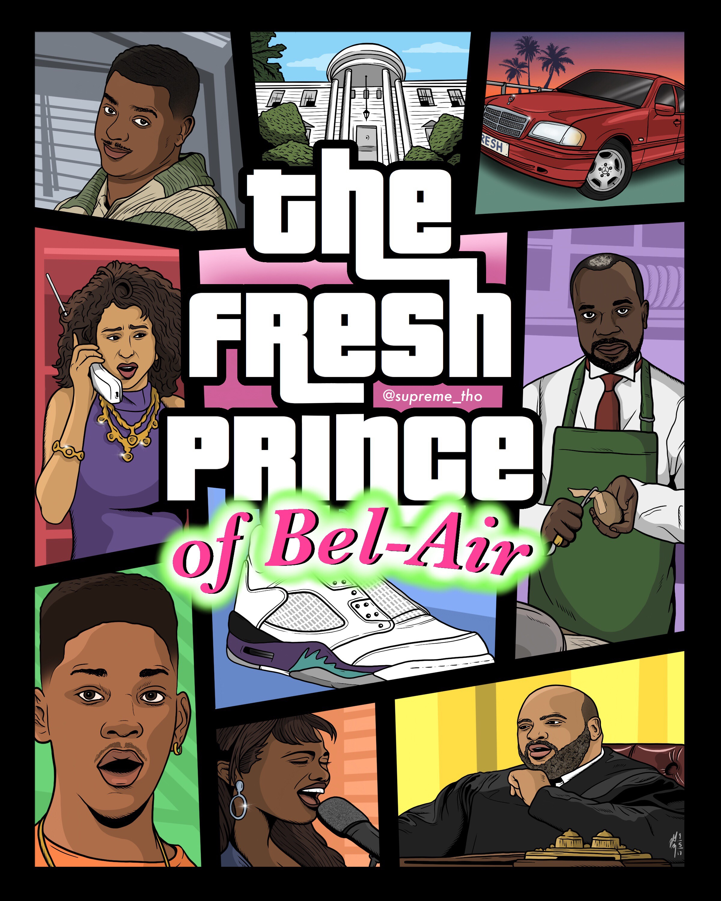 GTA: THE FRESH PRINCE