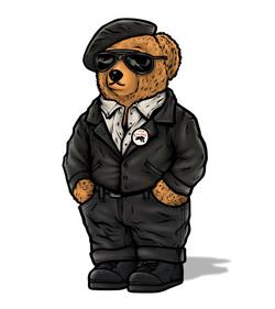TOP CLVSS POLO BEAR