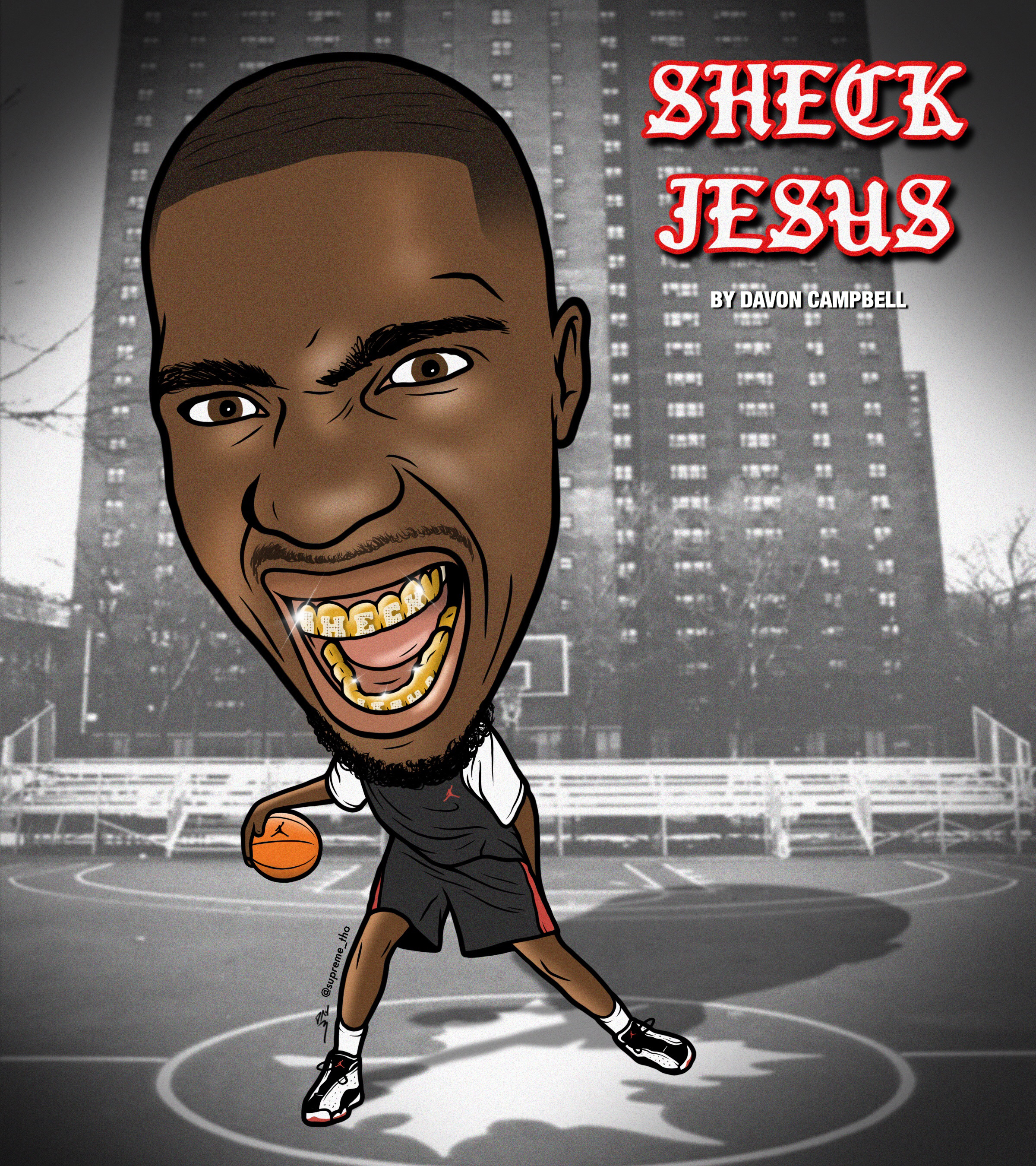 SHECK WES BOBBLEHEAD