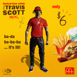 TRAVIS SCOTT x MCDONALDS