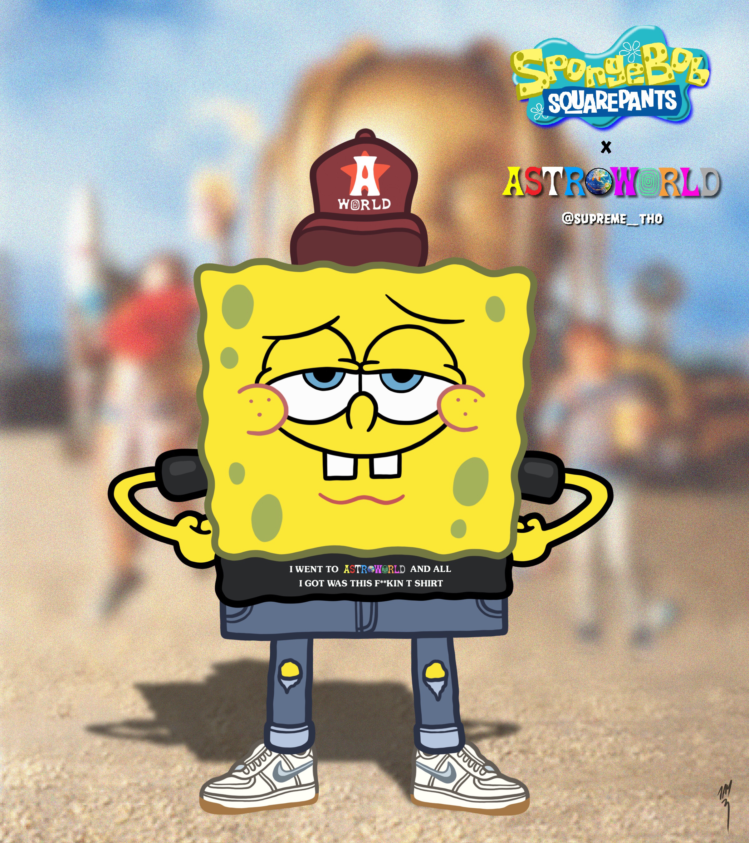 SPONGEBOB x ASTROWORLD