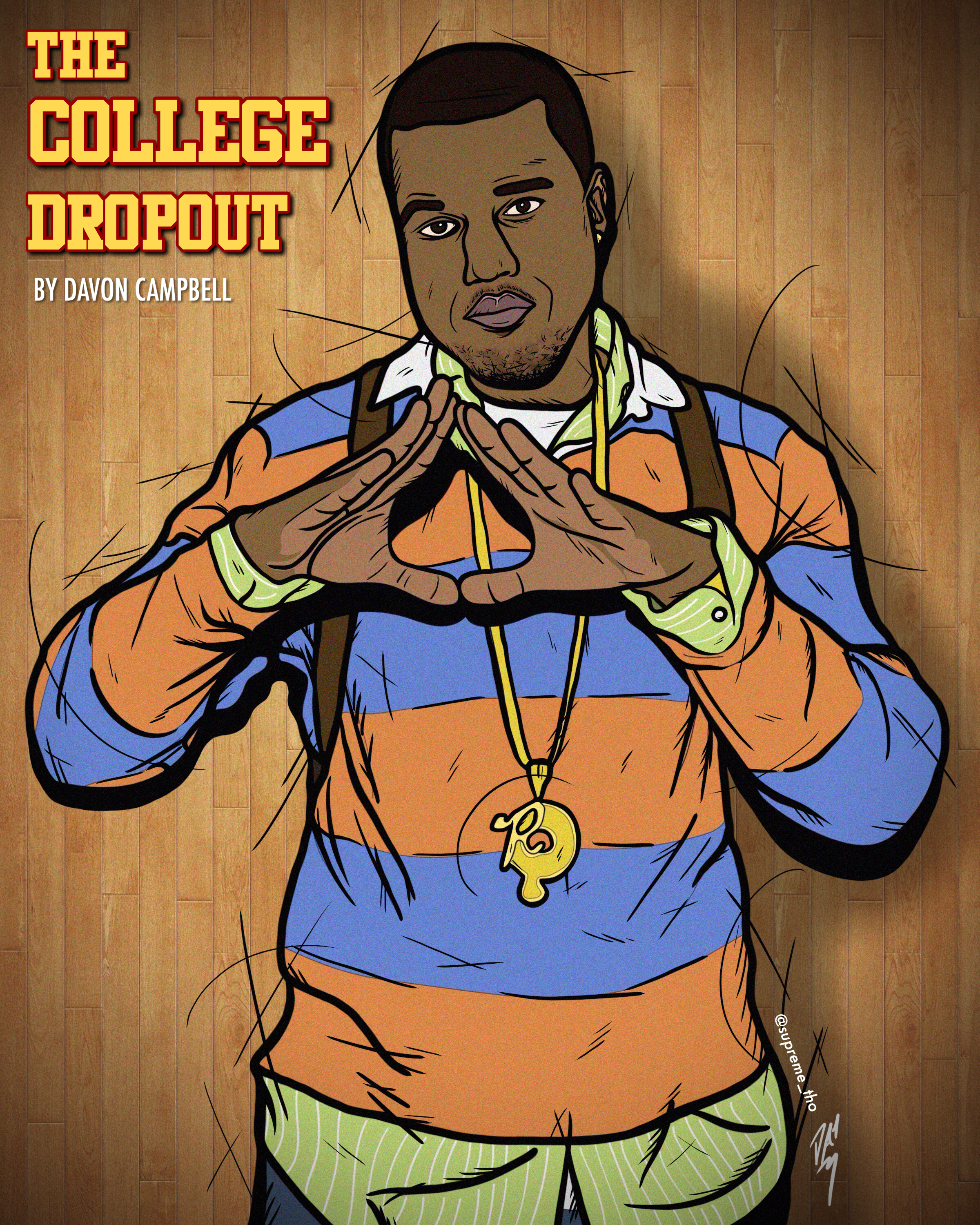 COLLEGE DROPOUT (RESTORED)