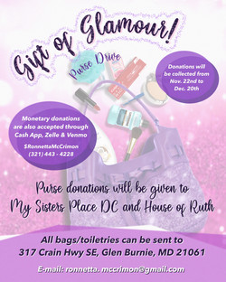 GIFT OF GLAMOUR FLYER