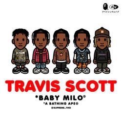 BAPE x TRAVIS SCOTT