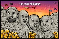 THE GAME CHANGERS.