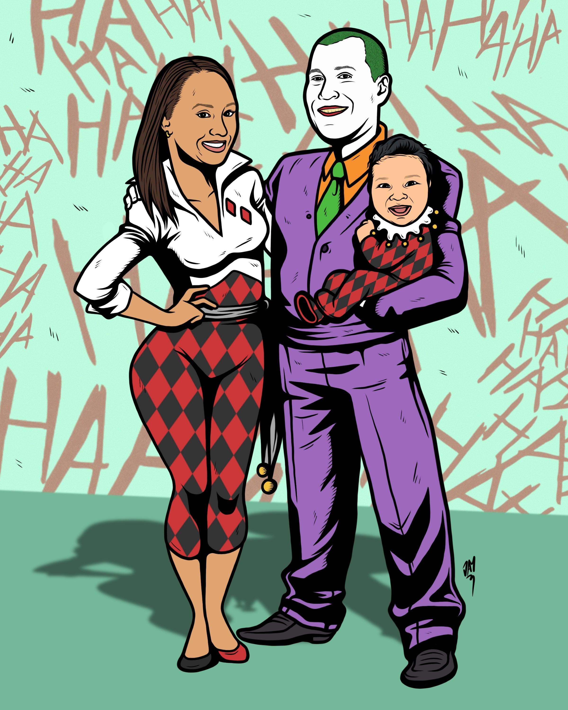 JOKER & HARLEY FAMILY