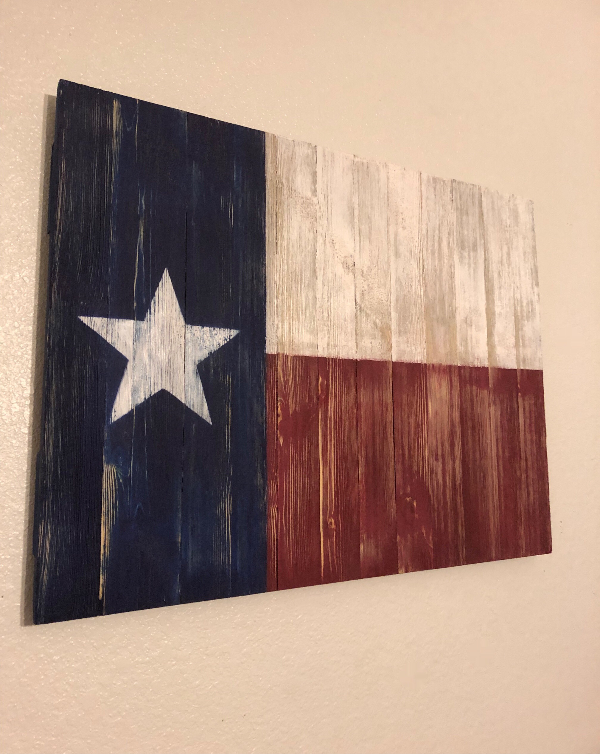 Wooden Texas Flag (SOLD)