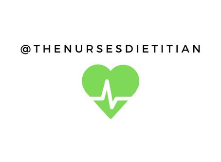How I Became The Nurses' Dietitian