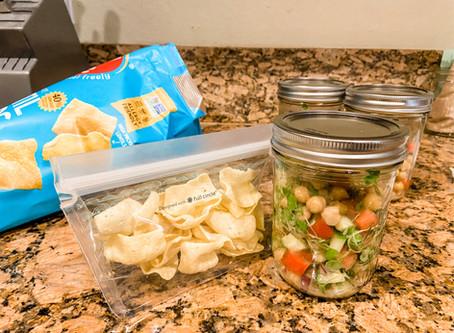 Enjoy Life - Lemon Garlic Chickpea Salad with Lentil Chips