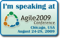 I'll be doing a tutorial at Agile2009!