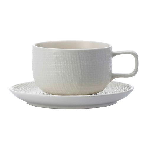 Knit CoffeeCup&Saucer