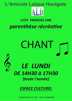 PARENTHESE récréative chant 21-22
