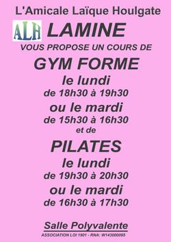 gym Lamine lundi mardi 2021-22