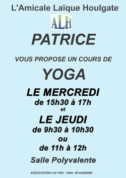 yoga patrice 2021-22