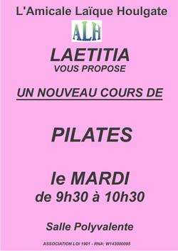 LAETITIA mardi pilates
