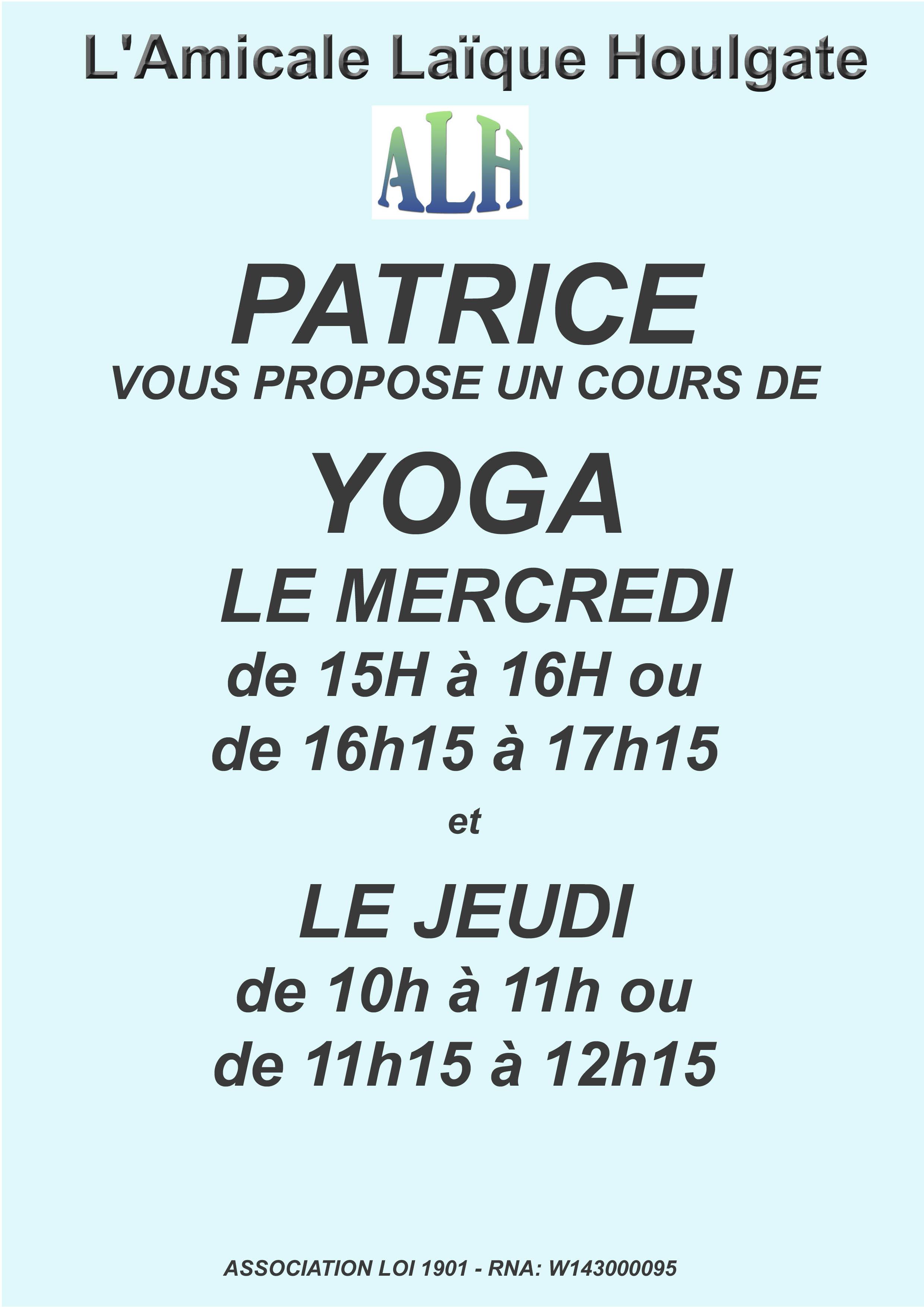 yoga patrice 2020-21