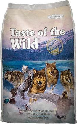Diamond Taste of the Wild Wetlands Canine Roasted Wild Fowl Dog - 5lb