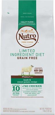 Nutro Limited Ingredient Diet Grain-Free Adult Lamb & Sweet Potato Recipe Dry Do