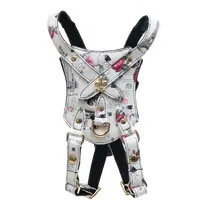 Small Leather Fashion Pet harness