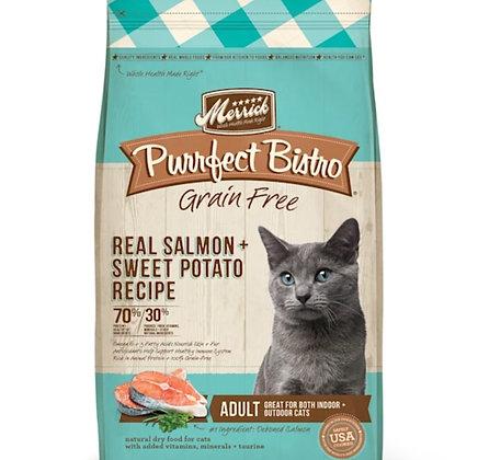 Merrick Purrfect bistro real salmon sweet potato recipe