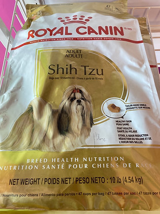 Royal Canine Shih Tzu 10 lb Bag
