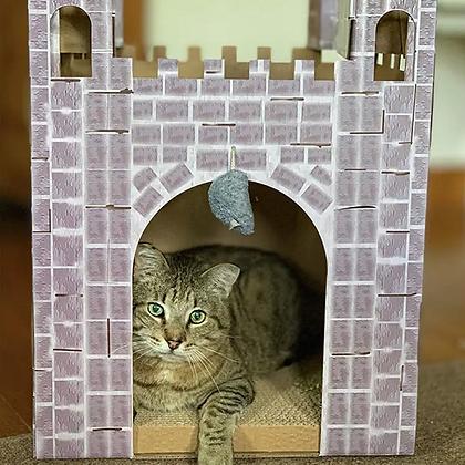 Midlee Castle Cat Scratcher House
