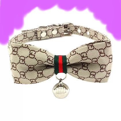 Star Deaign Pet Collar Nylon/Leather