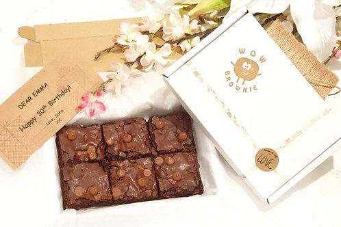 Milk Chocolate Chunk Brownie box of 6