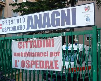 Petizione per la riapertura dell'Ospedale di Anagni