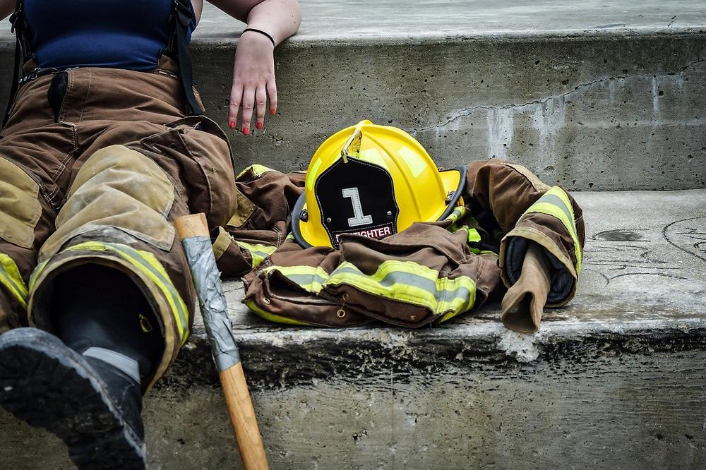 消防団員のストレスの緩和