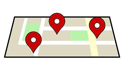 PHAREで現場の位置を確認