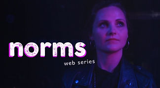 Poster for Norms brand new Icelandic web series with a queer and female focus