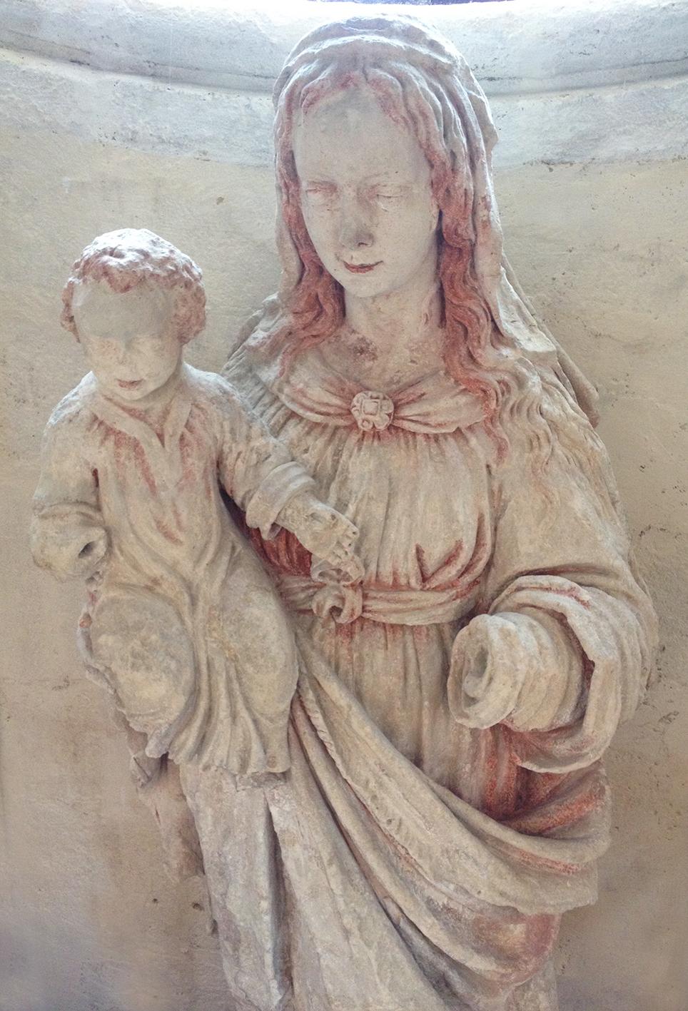 Vierge après restauration