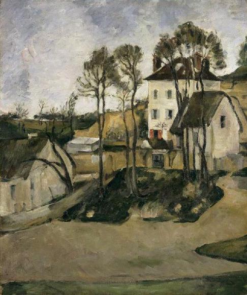 Cézanne-LaMaisonduDrGachetàAuvers,1873