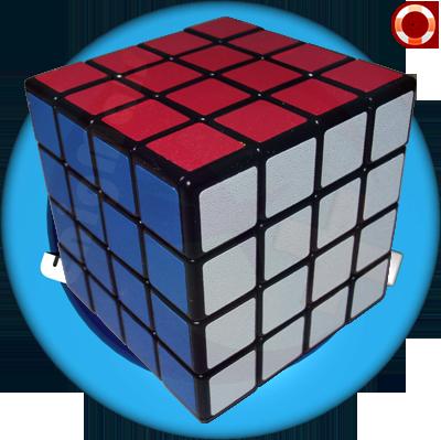Cubo Mágico 4x4 Shengshou Preto