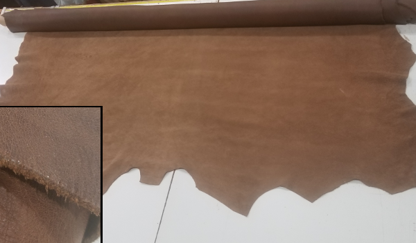Wall Coverings Made from Natural Leather Cowhide or Leather Tiles