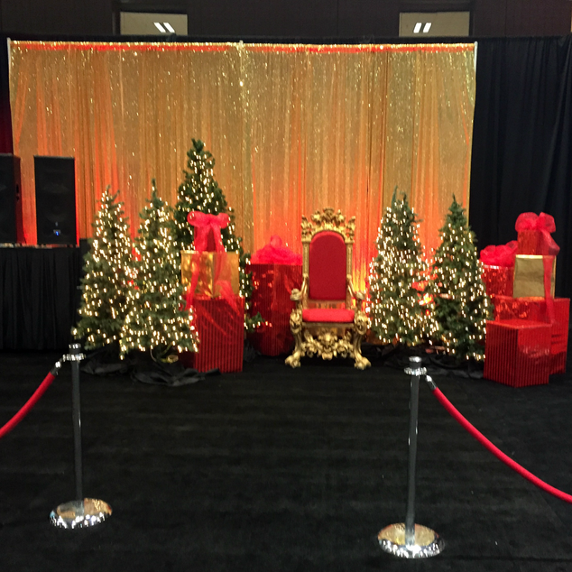 FlameGard® - Beautiful Backdrop with Fire Retardant