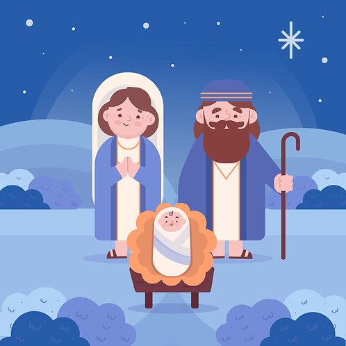 Chúa Giêsu Giáng Sinh Trong Đêm Lạnh Lẽo