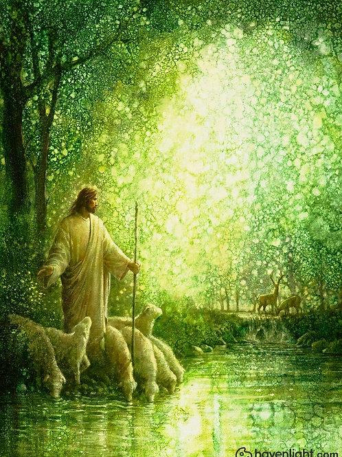 Chúa Giêsu Và Đàn Chiên Bên Bờ Suối
