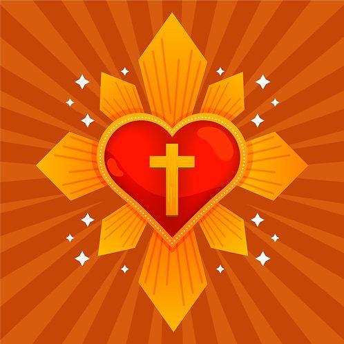 Thánh Tâm Chúa Giêsu Và Thánh Giá