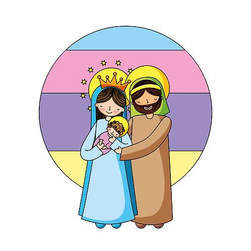 Gia Đình Chúa Giêsu Cartoon